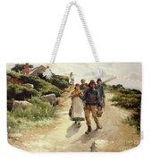 Lamorna Cove Cornwall Weekender Tote Bag