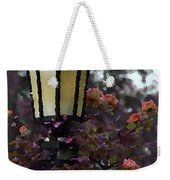 Lamp And Roses Weekender Tote Bag