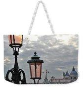 Lamp At Venice Weekender Tote Bag