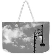 Lampost And Clouds In Wroclaw Poland Weekender Tote Bag