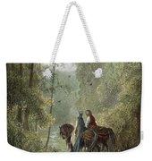Lancelot & Guinevere Weekender Tote Bag