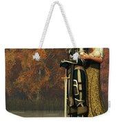 Lancelot And Guinevere Weekender Tote Bag by Daniel Eskridge