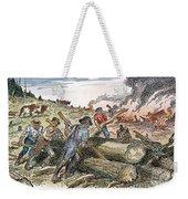 Land Clearing, C1830 Weekender Tote Bag