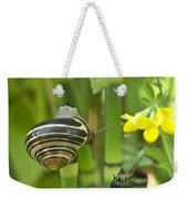 Land Snail 5698 Weekender Tote Bag