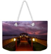 Landing Lights Weekender Tote Bag
