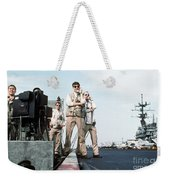 Landing Signal Officers Guide An F-14 Weekender Tote Bag