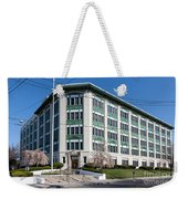 Landmark Life Savers Building I Weekender Tote Bag by Clarence Holmes