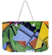 Landscape And Houses At Ceret Weekender Tote Bag