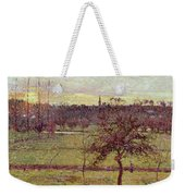 Landscape At Eragny Weekender Tote Bag
