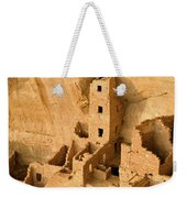 Landscape View Of Square Tower Weekender Tote Bag