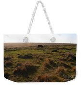 Landscape With Cow Grazing In The Field . 7d9935 Weekender Tote Bag