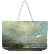 Landscape With Huts Weekender Tote Bag