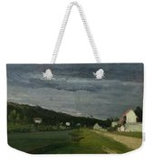 Landscape With Stormy Sky Weekender Tote Bag