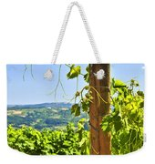 Landscape With Vineyard Weekender Tote Bag by Elena Elisseeva