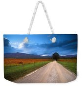 Lane Across Valley Weekender Tote Bag