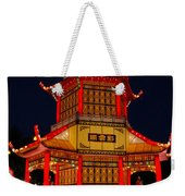 Lantern Lights Weekender Tote Bag