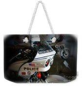 Lapd Motorcycle Weekender Tote Bag