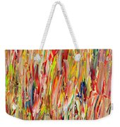 Large Acrylic Color Study 2012 Weekender Tote Bag