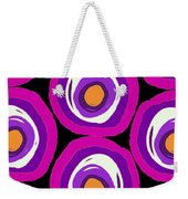 Large Scale Spots Weekender Tote Bag
