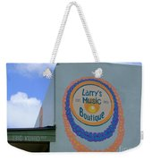 Larrys Music Boutique  Est 1952 Weekender Tote Bag