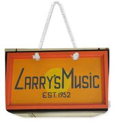 Larrys Music  Est 1952 Weekender Tote Bag