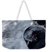 Larsen B Ice Shelf Breaking Away 2 Of 5 Weekender Tote Bag