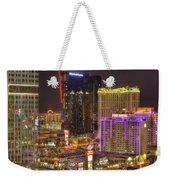Las Vegas Nevada Weekender Tote Bag by Nicholas  Grunas
