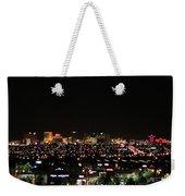 Las Vegas Nevada Nighttime Skyline Weekender Tote Bag