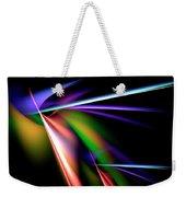 Laser Light Show Weekender Tote Bag
