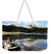 Lassen Mountain Lakes Weekender Tote Bag