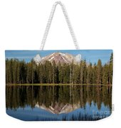 Lassen Peak Reflections Weekender Tote Bag