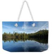 Lassen Summit Lake Reflections Weekender Tote Bag