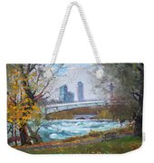 Last Leaves  Weekender Tote Bag by Ylli Haruni