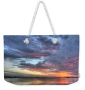 Last Light Over The Lake Weekender Tote Bag