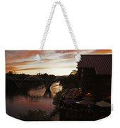 Last Light Over The Rogue Weekender Tote Bag