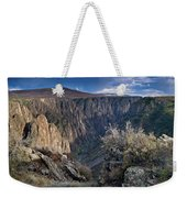 Late Afternoon At Black Canyon Of The Gunnison Weekender Tote Bag