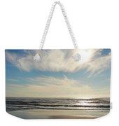 Late Afternoon On An Oregon Beach Weekender Tote Bag