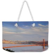 Late Evening Over San Francisco Weekender Tote Bag