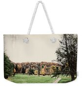 Late Fall In Waynesville Weekender Tote Bag