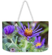 late Summer Fleabane Weekender Tote Bag