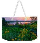 Late Summer Lake Weekender Tote Bag