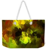 Late Summer Nature Abstract Weekender Tote Bag
