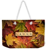 Laugh-autumn Weekender Tote Bag