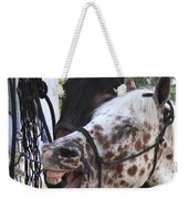 Laughing Horse Weekender Tote Bag
