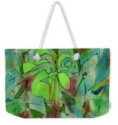 Laughing Lotus Weekender Tote Bag