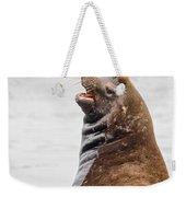 Laughing Sea Lion Weekender Tote Bag
