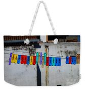 Laundry Clips Weekender Tote Bag