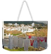 Laundry Day In Azores Weekender Tote Bag
