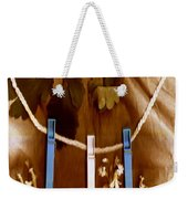 Laundry Day Popart Weekender Tote Bag