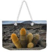 Lava Cactus Brachycereus Nesioticus Weekender Tote Bag